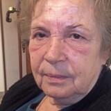 Den græske pensionist Maria Alexiou har efter efter de seneste nedskæringer mistet en tredjedel af sin pension og må leve for 3.000 kroner om måneden, og hun er ligesom både grækerne generelt og de øvrige EU-lande voldsomt utilfreds med den græske premierminister, Alexis Tsipras. Foto: ?Maria Arcel