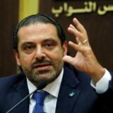 Libanons afgåede premierminister, Saad al-Hariri.