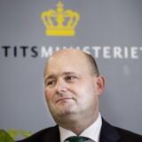 (ARKIV) Justitsminister Søren Pape Poulsen (K), den 28. november 2016.