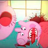 Den falske Gurli Gris kommer på YouTube ud for ting, som ikke er for børn. Foto: YouTube