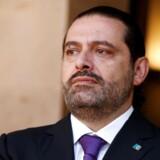 Premierminister Saad al-Hariri sagde lørdag, at han trækker sig før tid, da han mener, at »en sammensværgelse« truer ham på livet.