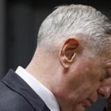 Mattis besøger Danmark og deltager i konference om kampen mod Islamisk Stat / AFP PHOTO / POOL / JONATHAN ERNST