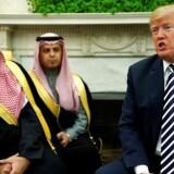 Donald Trump mødtes i nat med den Saudi-arabiske prins Mohamad bin Salman, som bliver i USA til torsdag.