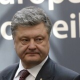 Ukraines præsident Petro Porosjenko er under pres.