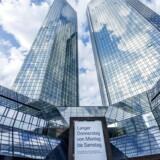 Deutsche Banks hovedkvarter i Frankfurt