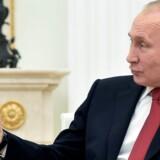 Ruslands præsident, Vladimir Putin, føler sig overbevist om, at landet snart har et stærkt og velfungerende antidopingprogram. Reuters/Pool
