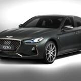 Genesis G70 går direkte efter spillerne i premiumsegmentet, BMW 3-serie og Audi A4. Men sådan bliver det ikke i Danmark, hvor der ikke er planer om at introducere Hyundais luksusmærke.