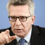 Arkivfoto. En eksplosiv stigning i kriminalitet begået af migranter og asylansøgere får nu Tysklands indenrigsminister til at råbe vagt i gevær. Særligt nordafrikanske migranter dukker op i den tyske kriminalstatistik