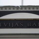 Arkivfoto. Lettisk nationalbankdirektør, Ilmars Rimsevics, er anholdt af korruptionspoliti.