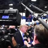 Donald Trump vs. medierne.