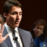 Canadas premierminister, Justin Trudeau, undrer sig over den amerikanske regerings begrundelse om, at toldsatserne er indført af hensyn til USA's sikkerhedsinteresser.