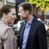 Mette Frederiksen og Kristian Thulesen Dahl var hovedpersonerne, da fagforbundet 3F inviterede til politisk topmøde om højere pensionsalder i Cirkusbygningen i København.