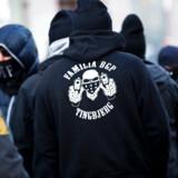 ARKIVFOTO 20130326 af bandegrupperingen LTF / Loyal To Familia- - RB PLUS De fleste forlader banderne inden fem år- - Se RB KRIMINAL 13.00. Forestillingen om, at bande- og rockerlivet er et broderskab for livet, er en myte, viser nye tal fra Justitsministeriet.De fleste skrider inden for få år.. (Foto: Scanpix/Scanpix 2017)