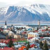 Udsigt over Islands hovedstad, Reykjavik. Foto: Scanpix