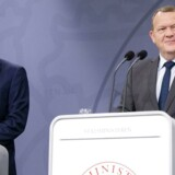 Regeringen peger på F-35 fra flyproducenten Lockheed Martin til at afløse de nedslidte F-16-fly, afslører statsminister Lars Løkke Rasmussen og forsvarsminister Peter Christensen.