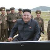 Arkivfoto. Fortsætter Nordkorea sine missilprovokationer, vil Sydkorea og USA reagere, meddeler regeringen i Seoul.