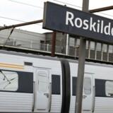 Arkivfoto: Alle tog omkring Roskilde Station kører igen, fortæller DSB's pressetjeneste mandag morgen.