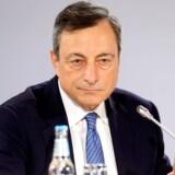 Der var ingen ændringer fra ECB-chef Mario Draghi torsdag. Arkivfoto.