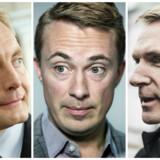 DF-ledelsen med Kristian Thulesen Dahl og Peter Skaarup i spidsen lægger luft til Morten Messerschmidt efter anklager om misbrug af EU-midler.