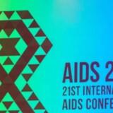 Arkivbillede fra Aids-konference i Sydafrika 18. juli. / AFP PHOTO / RAJESH JANTILAL