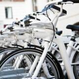 Arkivfoto: Gobike cykler.