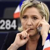 Arkivfoto. Marine Le Pen. AFP PHOTO / FREDERICK FLORIN