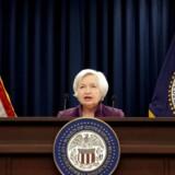 En af konferencens helt store taler afholdes først fredag, hvor Janet Yellen træder op på talerstolen.