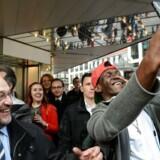 Tysklands socialdemokratiske kanslerkandidat Martin Schulz fører valgkamp i Saarbrücken. Delstatsvalget i Saarland vil røbe om Schulz-effekten er bæredygtig.
