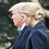 Donald Trump og hans datter Ivanka.