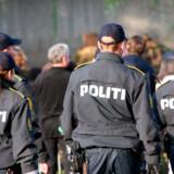 Politi i København.