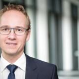 """Jacob Pedersen Sydbank. Ifølge aktieanalysechef Jacob Pedersen fra Sydbank er sandsynligheden for en """"alvorlig opbremsning i Vestas' ordreindgang fra USA på kort sigt steget væsentligt"""". Arkivfoto."""