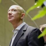 Amazon, der blev grundlagt af Jeff Bezos i 1994, åbner kontor i Danmark. Scanpix/Jason Redmond