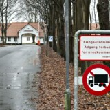 Det tidligere åbne fængsel Kærshovedgård uden for Ikast, der huser afviste, udviste asylansøgere. Arkivfoto: Henning Bagger