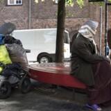 I juni trådte skærpede regler om tiggeri i kraft. Søndag blev to rumænske statsborgere tiltalt i København. (Foto: Sofie Mathiassen/Scanpix 2017)