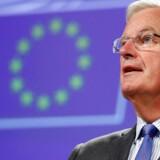 EU's brexit-forhandler, Michel Barnier, er bekymret over det britiske udspil om fremtidens grænse mellem Irland og det britiske Nordirland.
