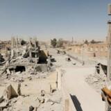 Arkivfoto: Den gamle bydel i Raqqa i Syrien, som er hovedstad i Islamisk Stats selverklærede kalifat.