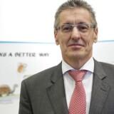 Ronnie Leten, tidligere topchef for den svenske industrikoncern Atlas Copco, skal være ny bestyrelsesformand for pressede Ericsson. Arkivfoto: Jonathan Nackstrand, AFP/Scanpix