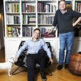 Jacob Grønlykke (t.h.) og Claus Meyer fotograferet i efteråret 2014, da de stod frem og fortalte, at de var fusioneret og videresolgt til kapitalfonden IK Investment Partners