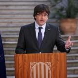 I løbet af mandag viste det sig, at Puigdemont og fem af hans ministre var »flygtet« til Bruxelles.