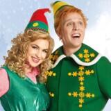 """Christiane Schaumburg-Müller og Pelle Emil Hebsgaard skal sprede julestemning i Tivolis Koncertsal med musicalen """"Elf"""" til næste år. Foto:PR."""