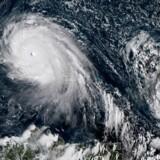 Den kraftige atlanterhavsorkan Irma hvirvler ind mod Cuba og Florida med sin »lillesøster« Jose lige i hælene.