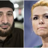 Oussama El-Saadi og Inger Støjberg optrapper konflikten i onsdagens BT. Fotos: Niels Ahlmann Olesen (venstre) og Thomas Lekfeldt (højre)
