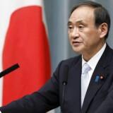 Den ledende talsmand for Japans regering, Yoshihide Suga.