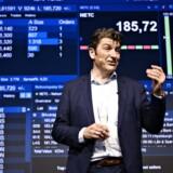Administrerende direktør og medstifter af Netcompany André Rogaczewski, da Netcompany børsnoteres og handlen skydes i gang ved et arrangement i DR Byen i København, torsdag den 7. juni 2018. Foto Ritzau Scanpix/Philip Davali