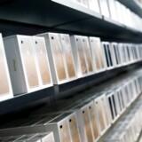 Apples iPhone 7-telefoner har samtidig med Samsungs problemer bragt Apple tilbage som verdens største smartphoneproducent, men det er antagelig allerede fortid, fordi folk venter på den næste iPhone 8, som forventningerne nu er skyhøje til. Arkivfoto: Thomas Peter, Reuters/Scanpix