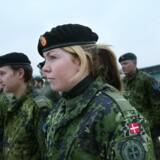 Siden 2005 er antallet af kvindelige værnepligtige tredoblet.