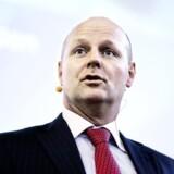 Tonny Thierry Andersen, bankdirektør Danske Bank, talte bl.a. om mødet med medarbejderne gennem de første 100 dage som topchef.