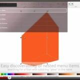 I stedet for at klikke rundt i rullegardinmenuer vil man bare kunne begynde at taste navnet på en kommando, her i et tegneprogram i Linux-udgaven Ubuntu. Foto fra YouTube