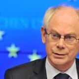 Herman Van Rompuy napper en tørn mere som EU-præsident