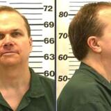 Et billede af John Lennons morder, Mark David Chapman, taget i 2012, da han for sjette gang bad om prøveløsladelse. Han forsøger nu for syvende gang at bede om prøveløsladelse.